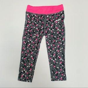 Nike Toddler Leggings, Gray, Black & Pink, 2T